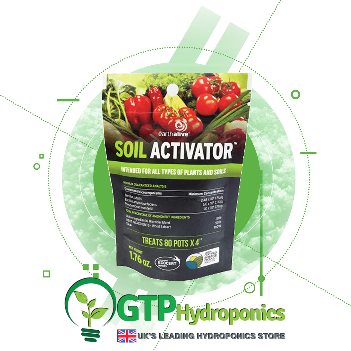 Earth Alive Soil Activator product