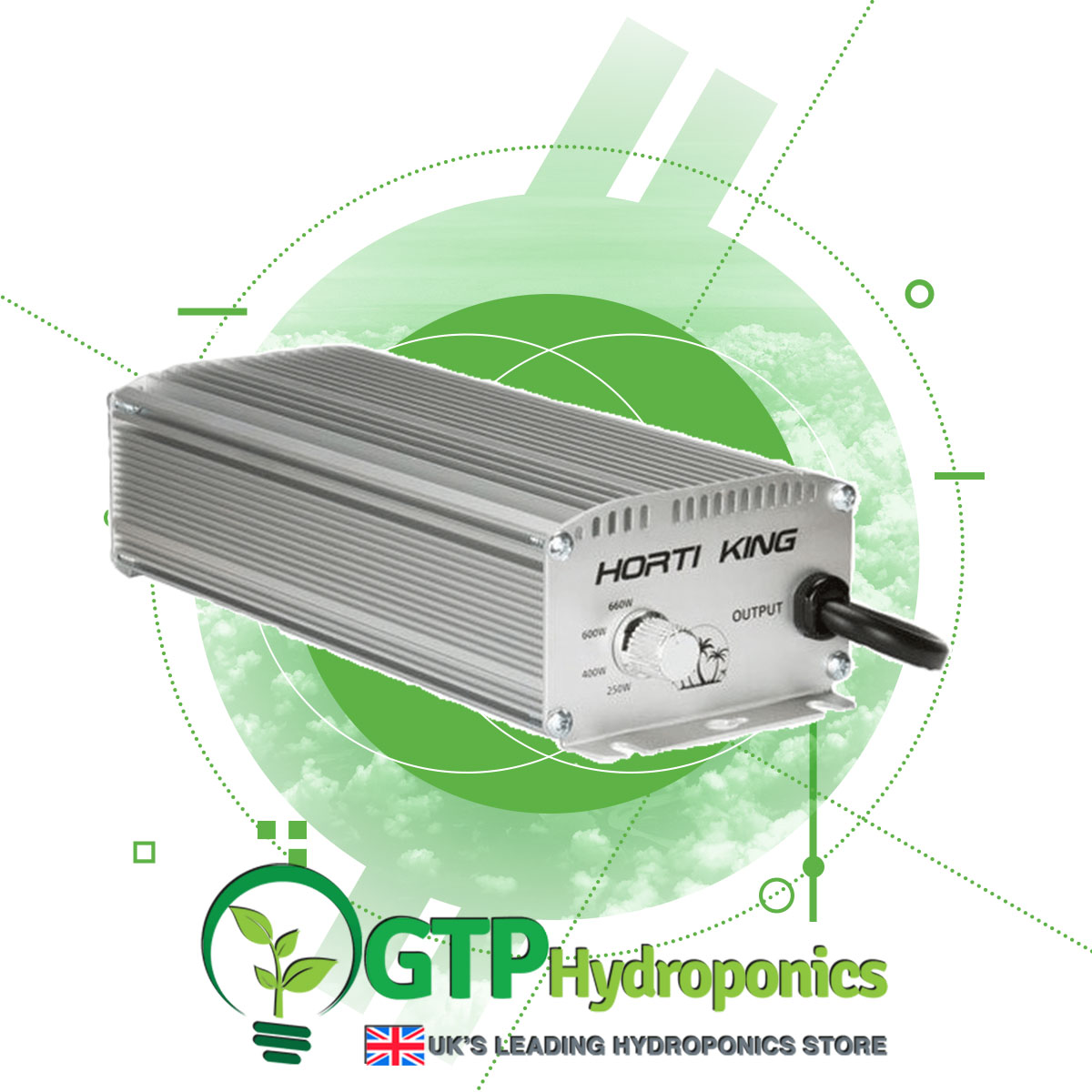 Horti King Dimmable Digital Ballast 660w product