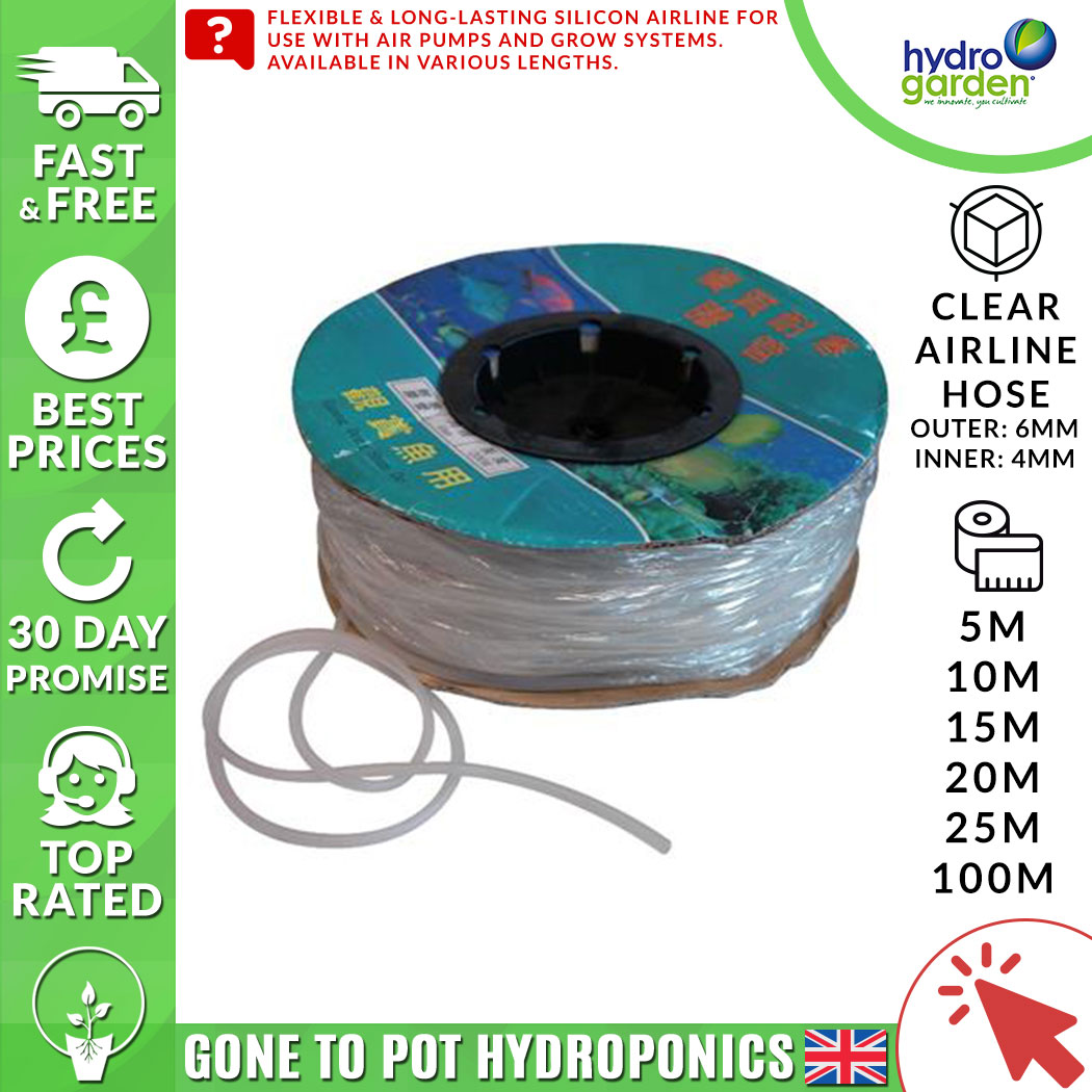 20m Micro irrigation tube 4mm internal diameter Very Flexible FAST DISPATCH