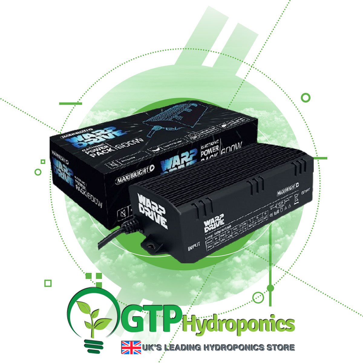 Maxibright Warp Drive Pro Variable Power Pack Ballast 600w product