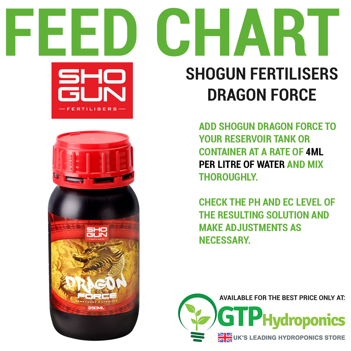 Shogun Fertilisers Dragon Force