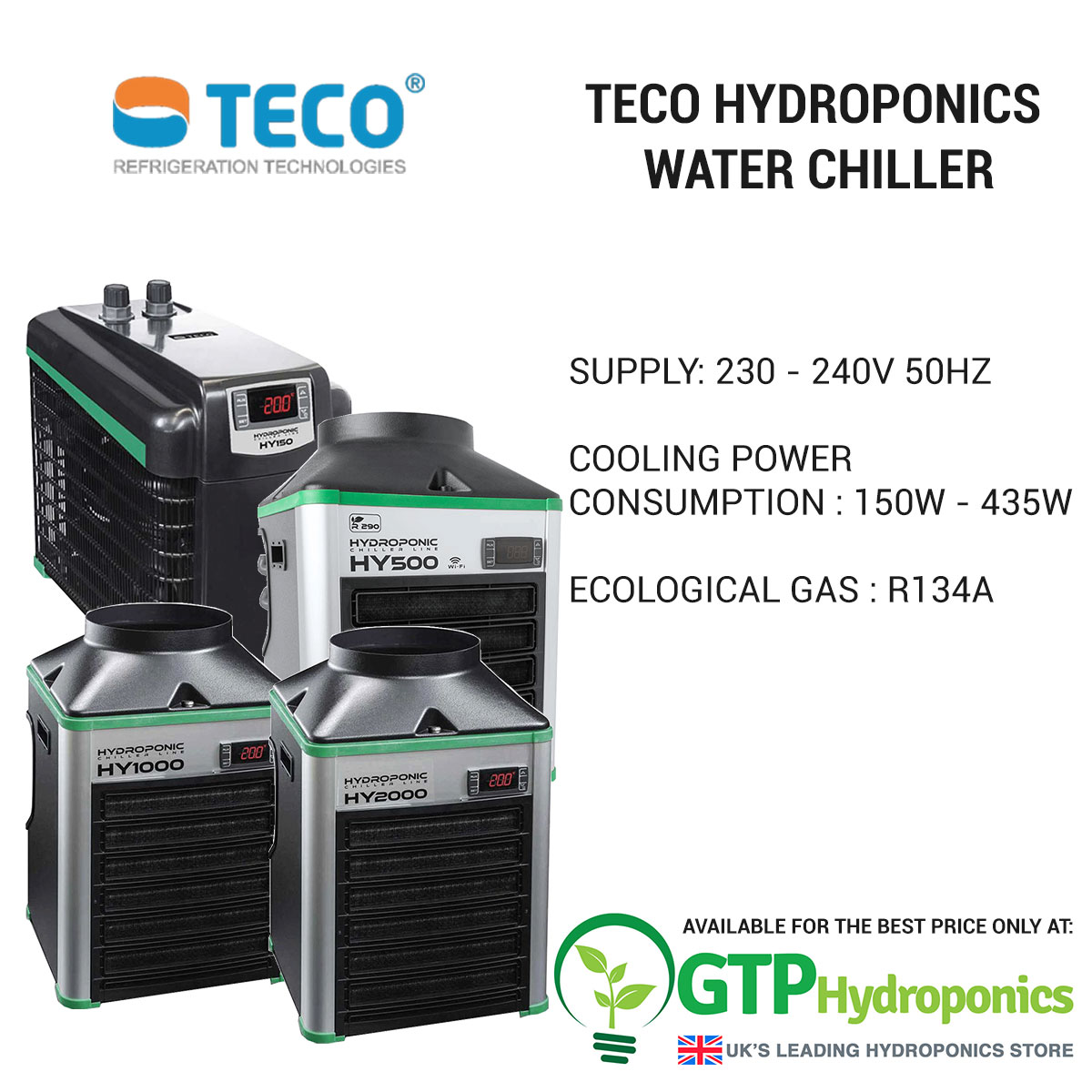Teco Hydroponics Water Chiller overview